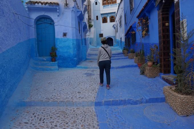 ここも素朴な・・・。モロッコ