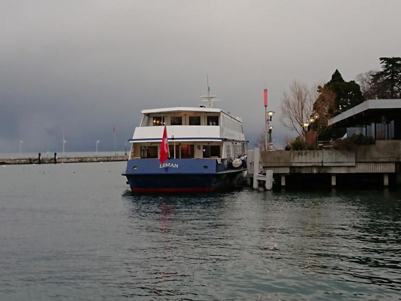 スイスからフランスへ船で国境を越えてみました!〜スイス視察の旅♪