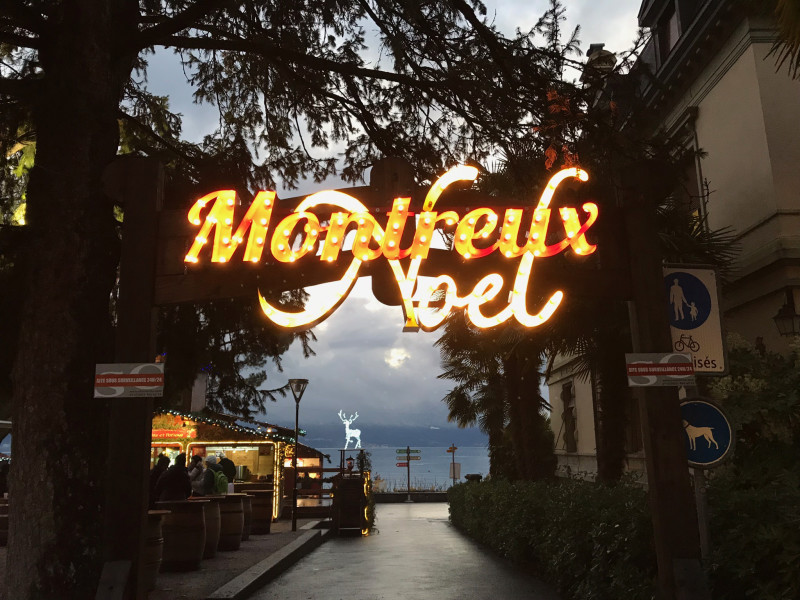 スイス☆クリスマスマーケット♪〜スイス視察の旅・モントルー〜